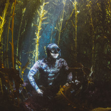 Myself in a kelp forest off Anacapa Island