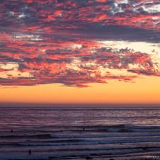 Sunset at Devereux