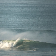 Lone surfer, Lone peak