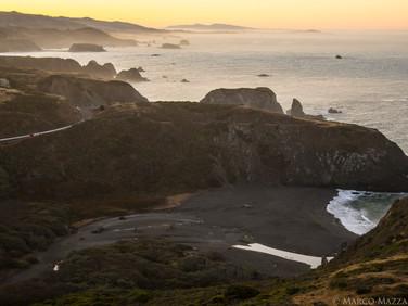 Sunrise on the Sonoma Coastline