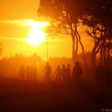 Children of the sun, Isla Vista, CA