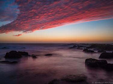Red Skies, Sea Ranch CA