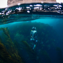 Miles Dextrie, ascending. Channel Islands, CA.