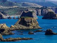 Elk coastline, Mendocino CA