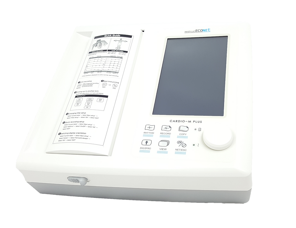 Econet Cardio M Plus 12 Kanal Ruhe EKG
