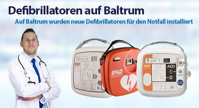 Defibrillatoren auf Baltrum