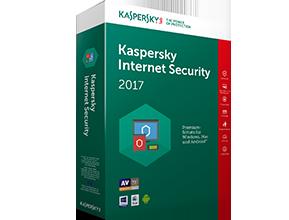 Kaspersky Internet Security 2017 5 User 1 Jahr Box