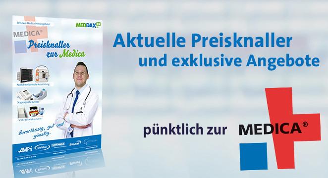 Banner Preisknaller zur Medica