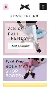 Fashion & Clothing website templates – Women's Shoes
