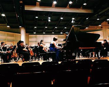Chopin Fantasy on Polish Airs with Boston University Orchestra and dr. Tiffany Chang