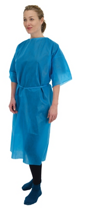 Premier Disposable Non Sterile Short Sleeve Gowns | Box of 20