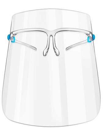 Face Shield – Protective Visor with glasses frame