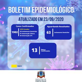 Boletim Epidemiológico - 23.09
