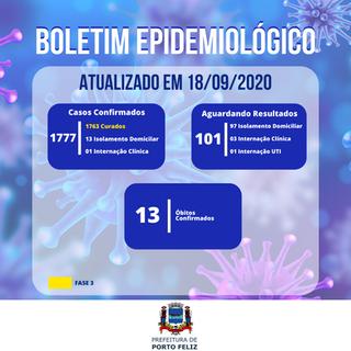 Boletim Epidemiológico - 18.09