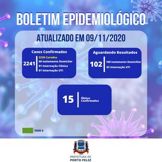 Boletim Epidemiológico - 09.11