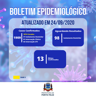 Boletim Epidemiológico - 24.09