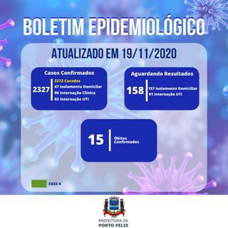Boletim Epidemiológico - 19.11