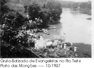 Gruta-Batizado de Evangelistas Rio Tiete