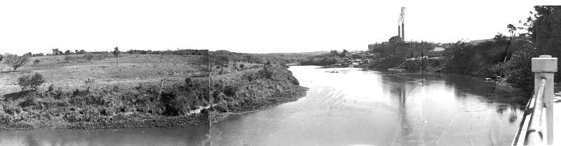 Rio Tiete gruta engenho desmatamento mar