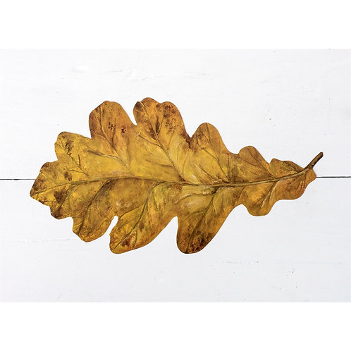 OAK LEAF TABLE ACCENTS