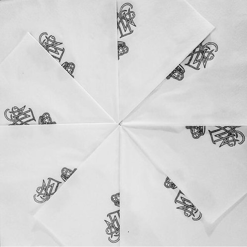 MONOGRAMMED PAPER NAPKINS