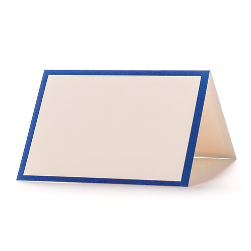 BLUE FRAME PLACE CARDS