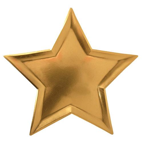 STAR GOLD FOIL PLATES