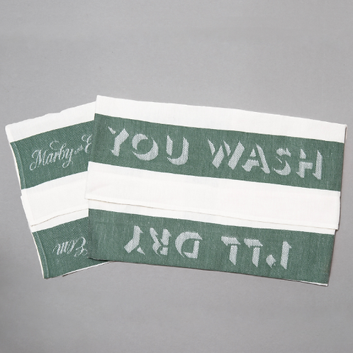 YOU WASH I'LL DRY TEA TOWEL