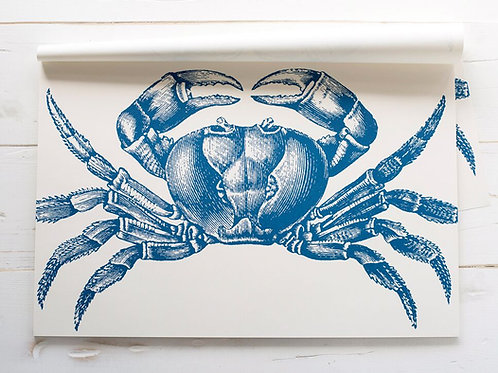 CRAB PAPER PLACEMATS