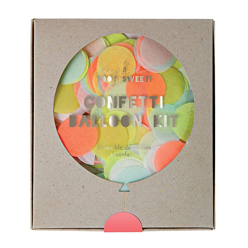 NEON CONFETTI BALLOON KIT