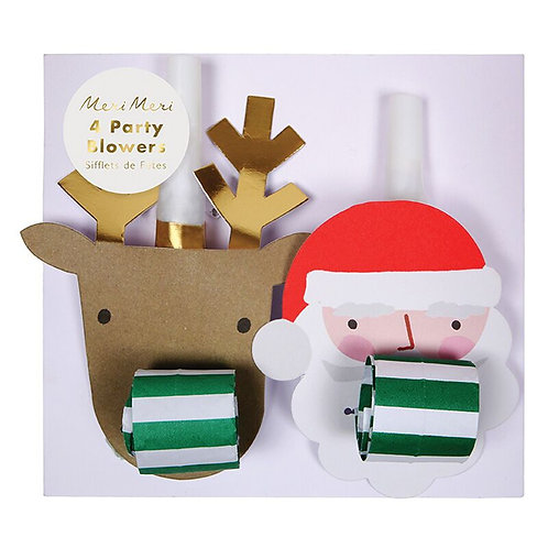 SANTA REINDEER PARTY BLOWERS
