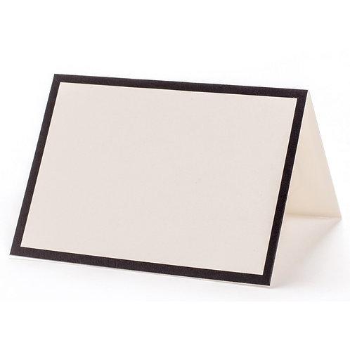 BLACK FRAME PLACE CARDS