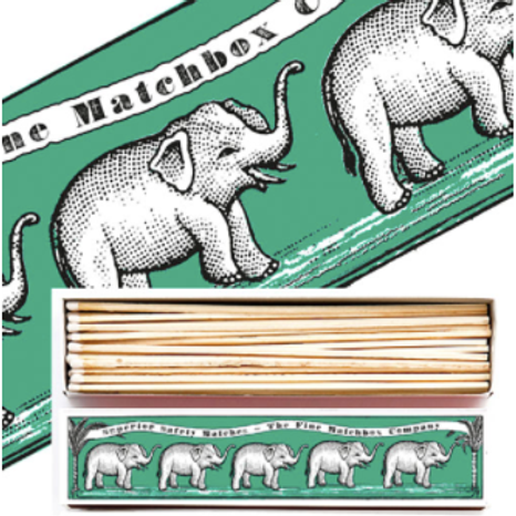 ELEPHANT LONG MATCHBOXES