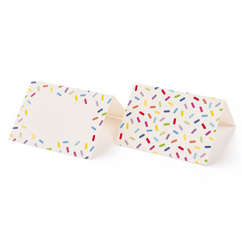 SPRINKLES PLACE CARDS