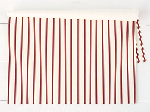 RED STRIPE PAPER PLACEMATS