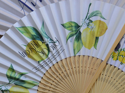 PERSONALISED PAPER FANS