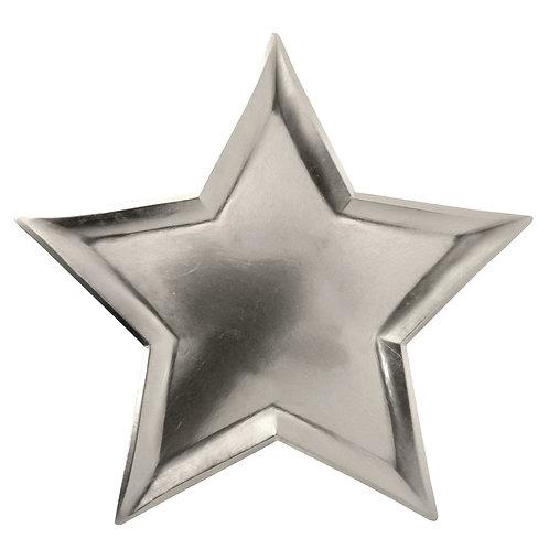 STAR SILVER FOIL PLATES