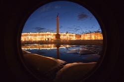 Nuit blancge à Saint Petersbourg