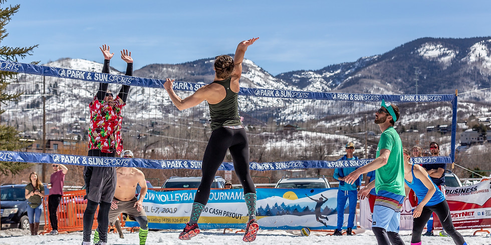 Snow Volleyball Tournament - Winter Park CO