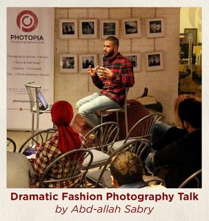 Dramatic Fashion Photography Talk by Abd