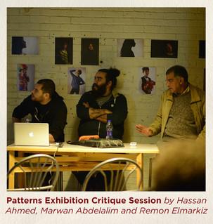 Patterns Exhibition Critique Session by