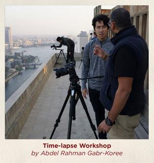 Time-lapse Workshop by Abdel Rahman Gabr
