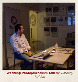 Wedding Photojournalism Talk by Timothy