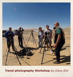 Travel photography workshop by Dany Eid