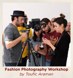 Fashion Photography Workshop by Toufic A