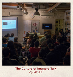 The culture of imagery talk by Ali Ali