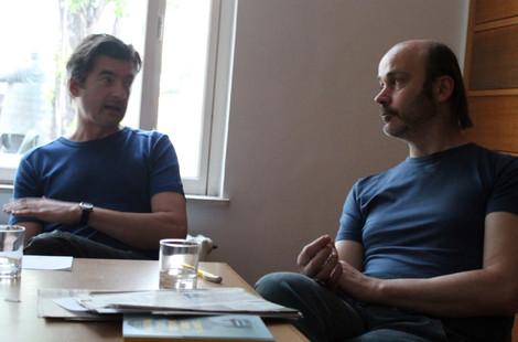 Talk_O Ressler, K Schafler_foto_R Franke
