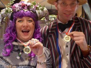 Teapot racing winner - YET AGAIN!
