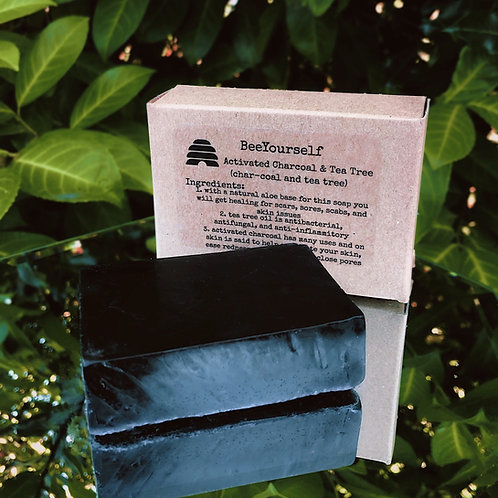 Activated Charcoal & Tea Tree Oil