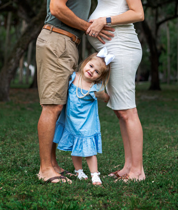 Tampa Maternity Family Portrait